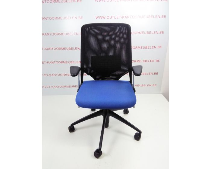 Vitra Meda Bureaustoel.Bureaustoel Vitra Meda 2 Blauw