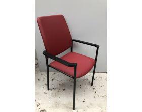 Bezoekersstoel Rood