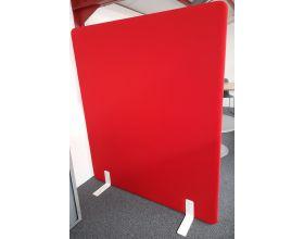 Akoestische wand Freestanding rood / oranje H 160 x L 140 cm