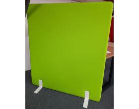 Akoestische wand Freestanding groen / oranje H 160 x L 140 cm